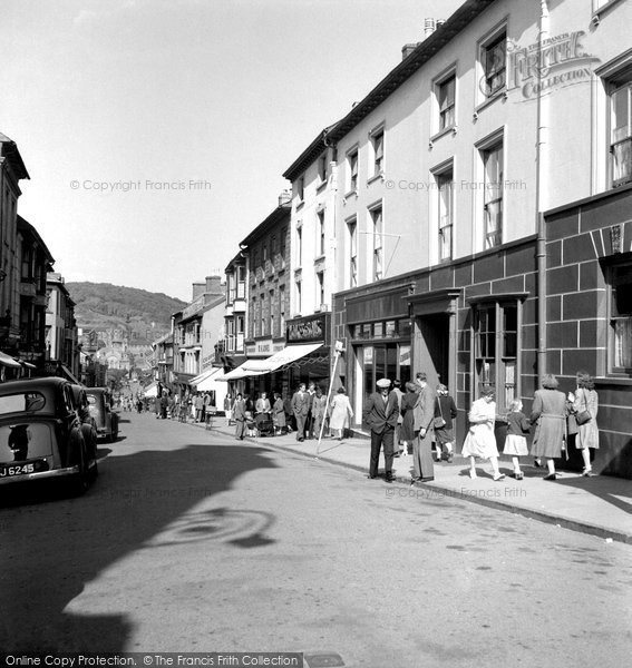 Photo of Aberystwyth, Great Darkgate Street 1949