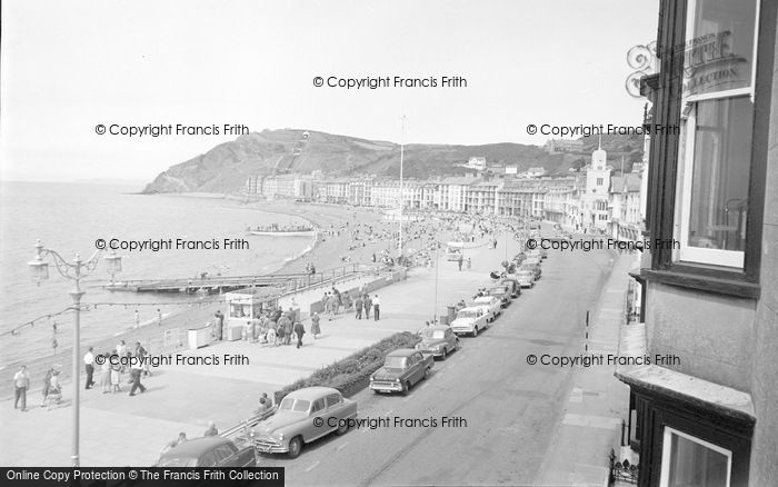 Photo of Aberystwyth, Marine Terrace And Beach 1960