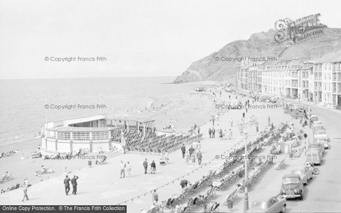 Photo of Aberystwyth, Marine Terrace And Beach 1960