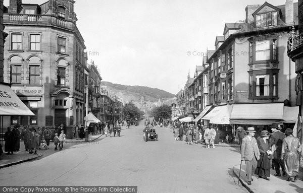 Photo of Aberystwyth, North Parade 1925