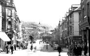 Aberystwyth, North Parade 1949