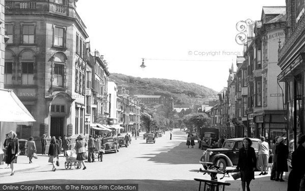 Photo of Aberystwyth, North Parade 1949