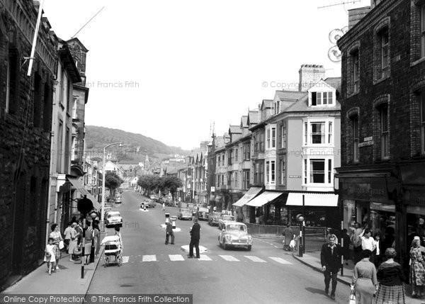 Photo of Aberystwyth, North Parade 1964