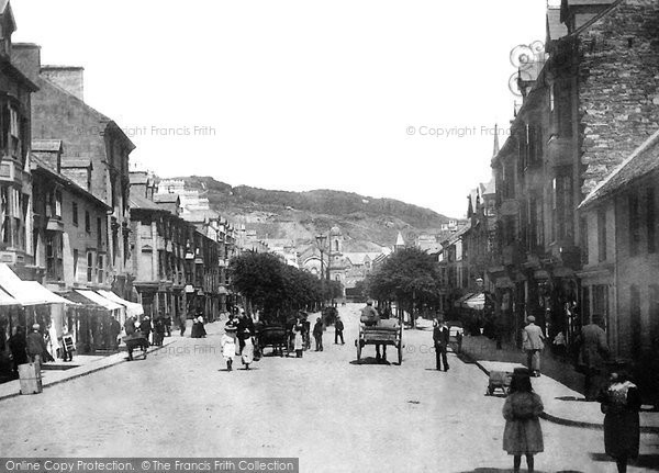 Photo of Aberystwyth, North Parade c.1900