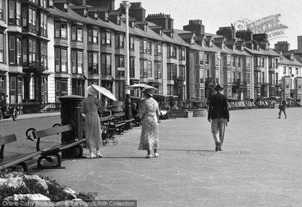 Photo of Aberystwyth, On The Promenade 1934