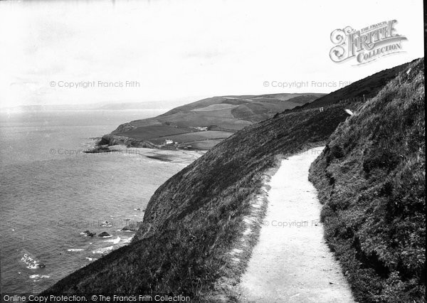 Aberystwyth, On The Way To Clarach Cove From Constitution Hill c.1930
