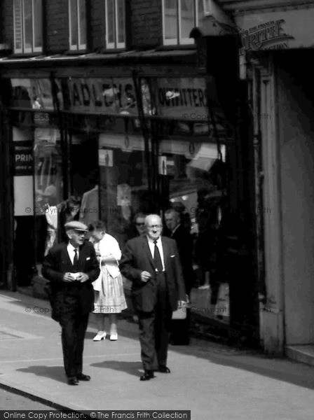 Photo of Aberystwyth, Outfitter's Shop, Great Darkgate Street 1964