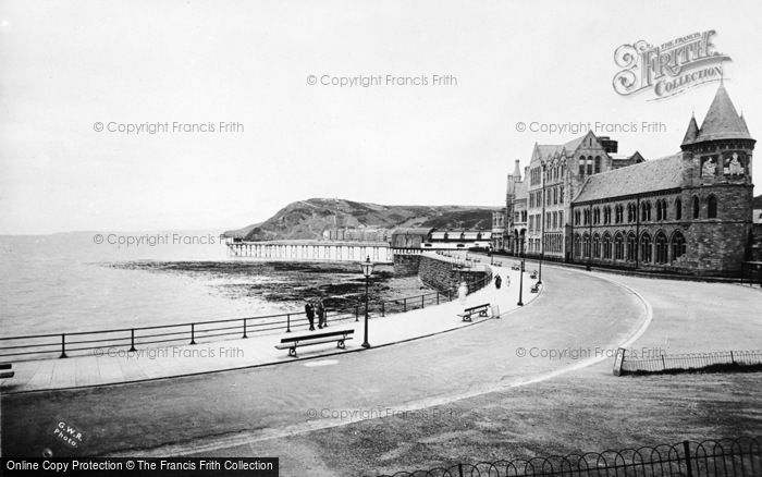Photo of Aberystwyth, Parade Extension, University College And Pier c.1931