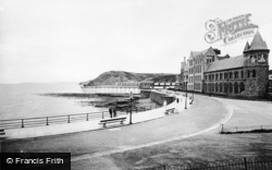 Aberystwyth, Parade Extension, University College And Pier c.1931