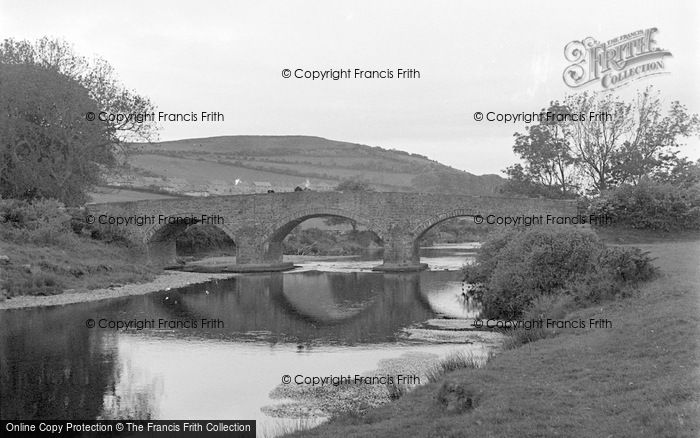 Photo of Aberystwyth, Pen Y Bont Bridge 1949
