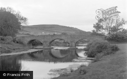 Aberystwyth, Pen-Y-Bont Bridge 1949