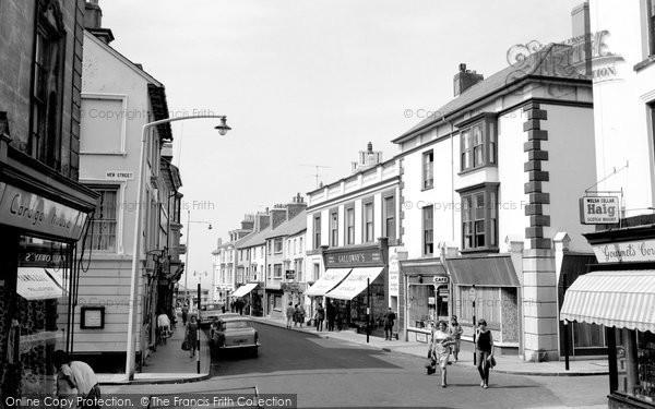 Photo of Aberystwyth, Pier Street 1964