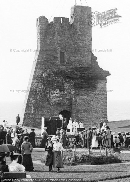 Photo of Aberystwyth, Pierrots At The Castle 1903