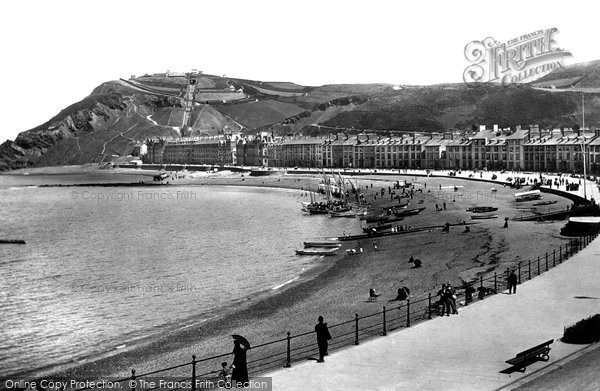 Photo of Aberystwyth, Promenade 1897