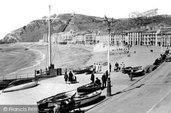 Promenade And Beach c.1930, Aberystwyth