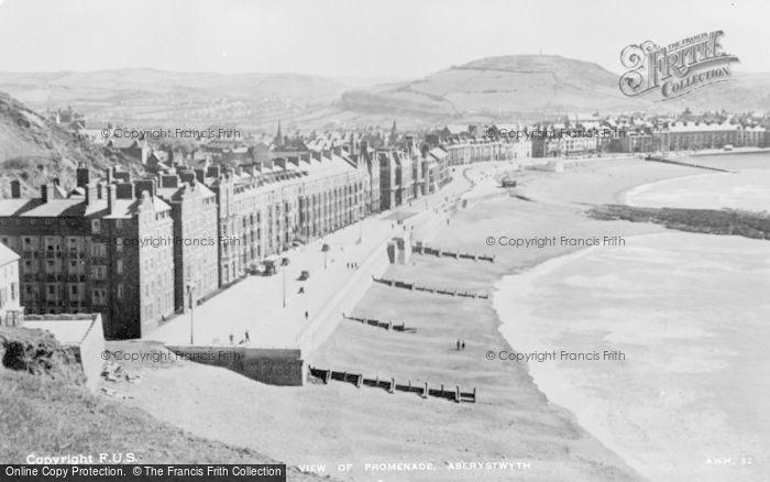 Photo of Aberystwyth, Promenade c.1930