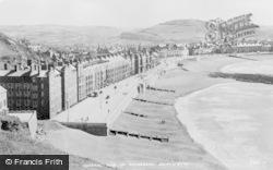 Aberystwyth, Promenade c.1930