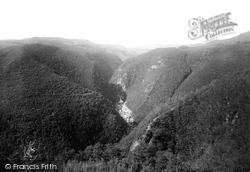 Rheidol Valley From The Hotel 1892, Aberystwyth