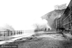 Rough Sea 1899, Aberystwyth