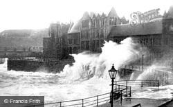 Rough Sea c.1930, Aberystwyth