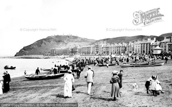 Photo of Aberystwyth, Sands 1903