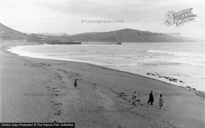 Photo of Aberystwyth, Sands And Bay 1949