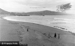 Aberystwyth, Sands And Bay 1949