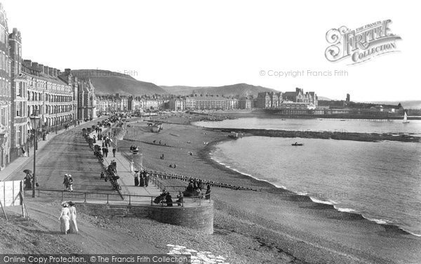 Photo of Aberystwyth, Seafront 1903