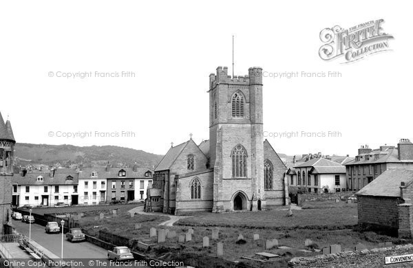 Photo of Aberystwyth, St Michael's Church 1964