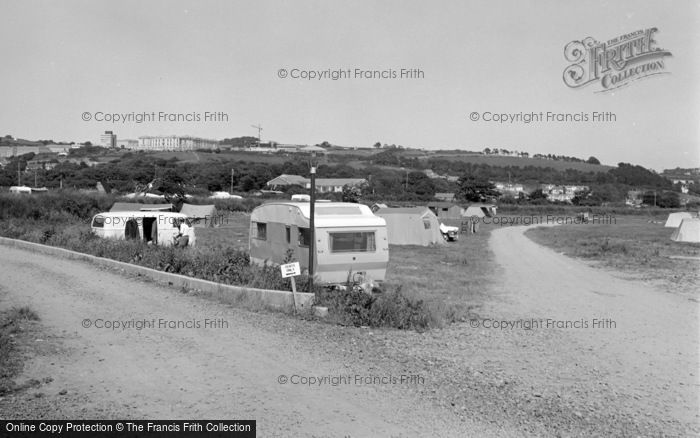 Photo of Aberystwyth, Tent Field 1969