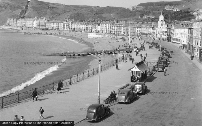 Photo of Aberystwyth, The Bay 1949