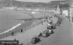 Aberystwyth, The Bay 1949