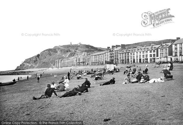 Photo of Aberystwyth, The Beach 1921