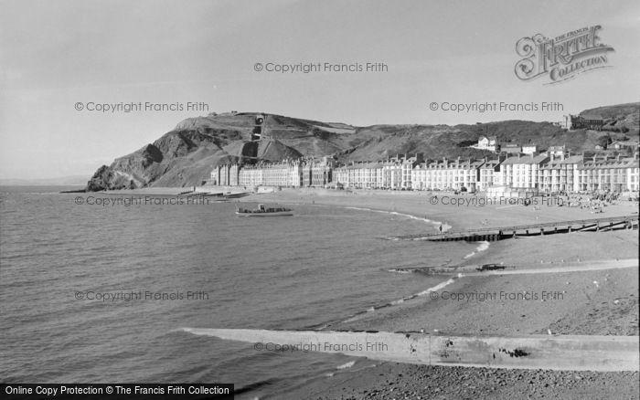 Photo of Aberystwyth, The Beach 1960
