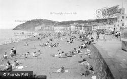 Aberystwyth, The Beach 1960
