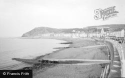 Aberystwyth, The Beach 1964