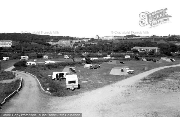 Photo of Aberystwyth, The Camp Site 1969