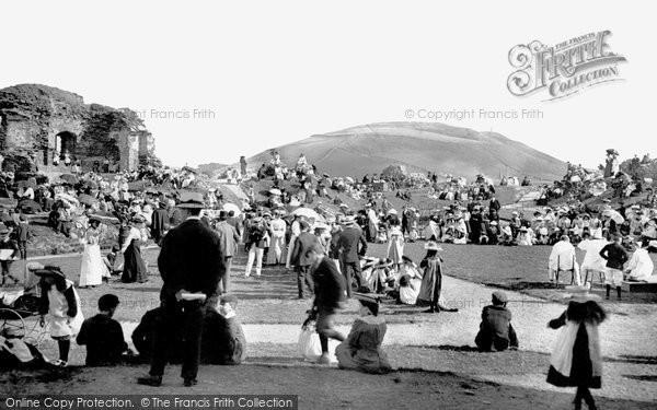 Photo of Aberystwyth, The Castle 1903