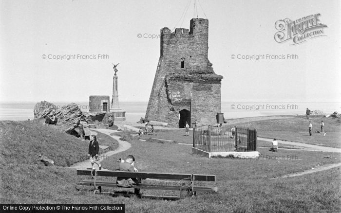 Photo of Aberystwyth, The Castle 1949