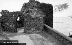 Aberystwyth, The Castle 1961
