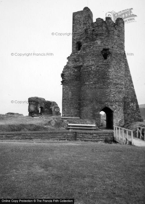 Photo of Aberystwyth, The Castle 1961