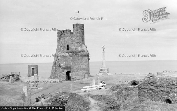 Photo of Aberystwyth, The Castle And Memorial 1960