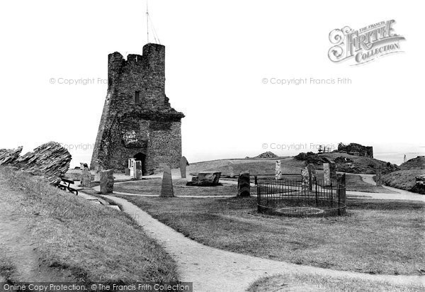 Photo of Aberystwyth, The Castle Grounds 1921