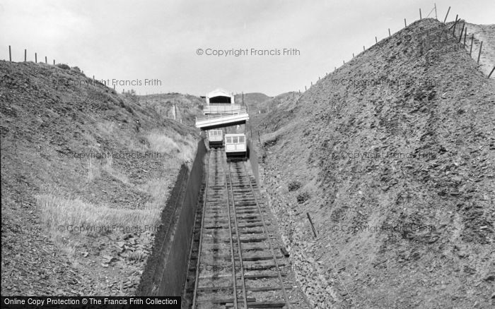 Photo of Aberystwyth, The Cliff Lift 1960