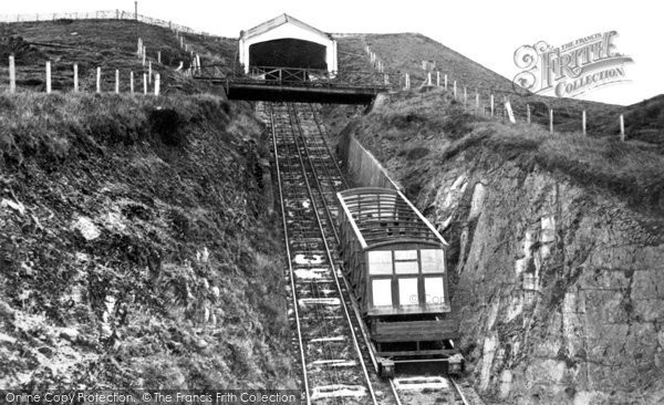 Photo of Aberystwyth, The Cliff Railway 1931