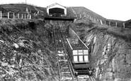 Aberystwyth, The Cliff Railway 1931