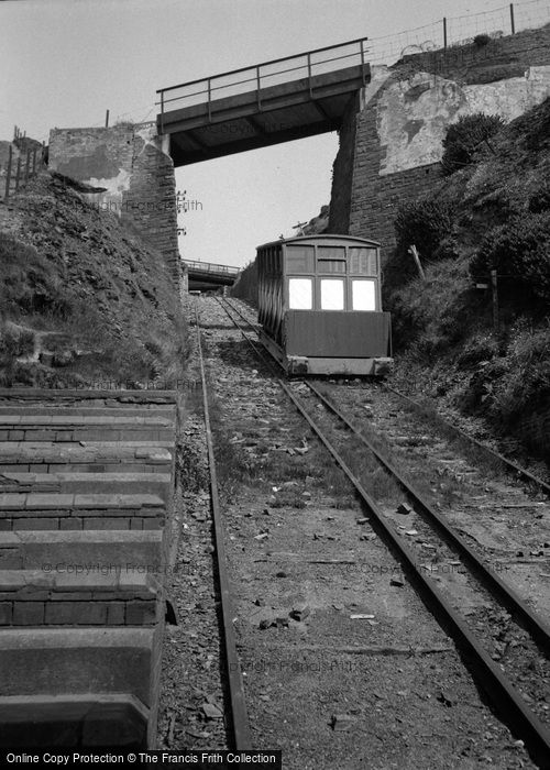 Photo of Aberystwyth, The Cliff Railway 1949