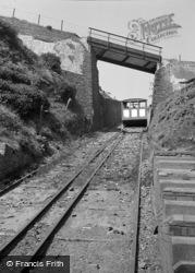 Aberystwyth, The Cliff Railway 1949