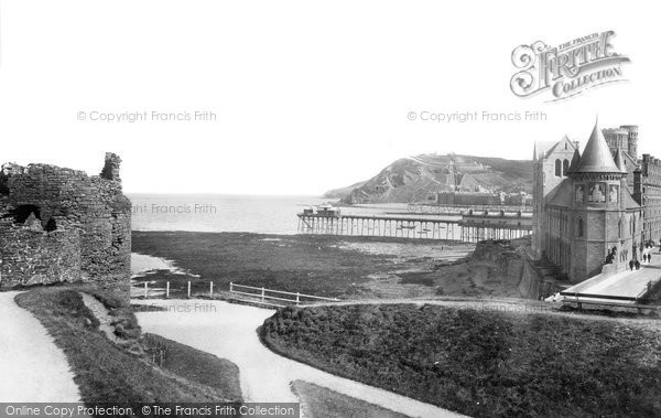 Photo of Aberystwyth, The College 1899