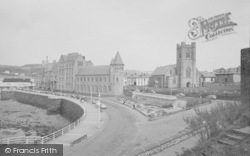 Aberystwyth, The College And Church 1964